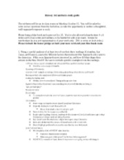 History 142 midterm study guide