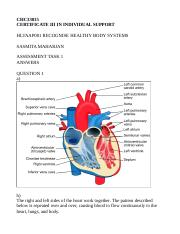 HLTAAP001 RECOGNISE HEALTHY BODY SYSTEMS.docx