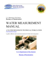 Water Measurement Manual_3rd_2001