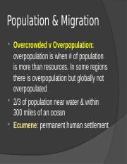 Topic 2 Population & Migration.pptx