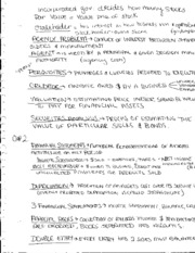 MGMT 450 Notes Stakeholders and other vocab