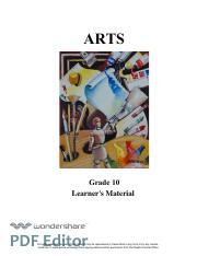 Arts 4th Quarter Module - Quarter IV ORIGINAL PERFORMANCE