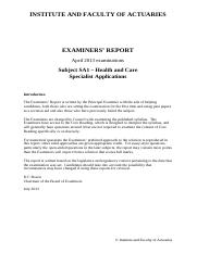 IandF_SA1_201304_Examiners'_Report_FINAL_20130726