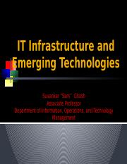 Lecture 5 IT Infrastructure and Emerging Technologies(2)