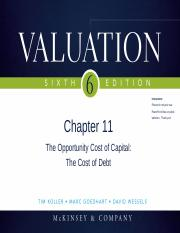 Chapter11_Cost of Capital