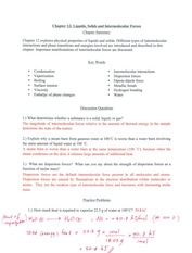 Chapter 12 Discussion Worksheet Key