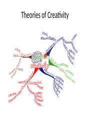 Chapter 4 - Theories of Creativity.pptx