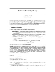prob-review