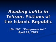 19_Fictions of the Islamic Republic.ppt