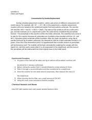 ACHM 125 : General Chemistry La 4W2 - SUNY, Albany - Course Hero