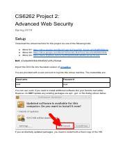 CS 6262 : Network Security - GT - Course Hero