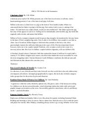 ENGL 3703 Book List & Summaries.docx