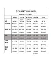 2016 2017 Student Timetable.docx