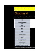 Core Chapter 04 Excel Master 3rd edition