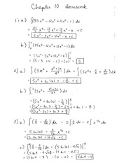 MA 123 Fall 2013 Chapter 10 Homework Solutions