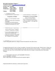BCH 3033 Worksheet Chapter 2.docx