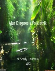 1. alur diagnosis psikiatrik