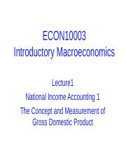 Lecture 1_National Income Accounting_1.ppt