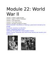 Module 22_ World War II.docx