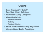 Water Quality lecture notes