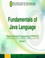 2-Fundamentals of Java Language.pdf