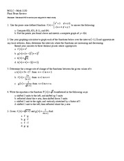 Integer coefficients Exam Final REview
