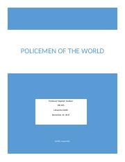 Assignment 2.2 Policemen of the World.docx