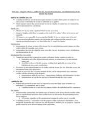 ACC 522 - Chapter 3 Notes