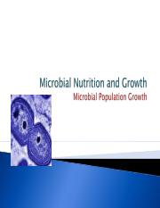 Microbial Nutrition and Growth  Ch9.ppt