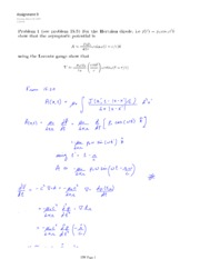 PHYS 454 HOMEWORK 9 SOLUTIONS