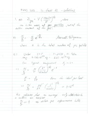 Phys 203 Discrete Temperature Review Question Solutions