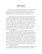 Essay on octavian augustus