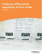Ordinary differential equations of first order.pdf