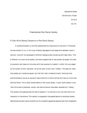 sociology research paper