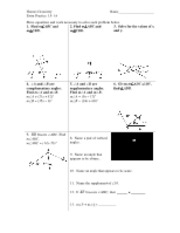 Honors Geometry- Chapter 2 Extra Practice Problems- Answer Key