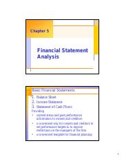 Chapter 05 - Financial statement analysis