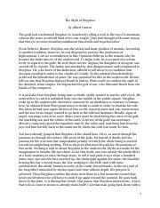 Reflective essay religion