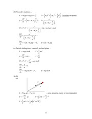 Analytical Mech Homework Solutions 160