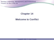 Anderson Ch 14 Conflict Resolution