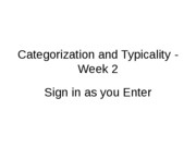 Categorization_Week2