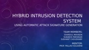 Hybrid Intrusion Detection System.ppt