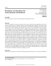 Journal of Research in International Education-2012-Hill-245-61
