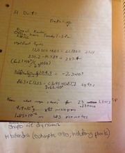 ORGO 276 Notes on Ions and Calculations