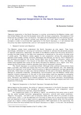 267723989-The-Policy-of-Regional-Cooperation
