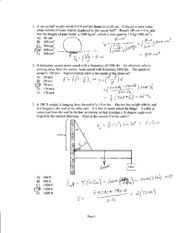Exam 3 Fall 2010 Solutions