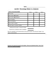 Lab 04  percent water in a hydrate Template.pdf