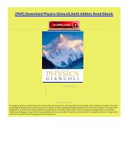 Physics giancolisixth edition 1pdf pdf physics giancolisixth 1 pages physics giancolisixth editionpdf fandeluxe Image collections