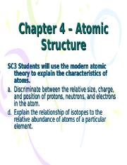 Ch 4 - atomic structure - student.ppt