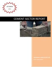 Cement Sector Report.pdf