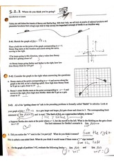 Evaluating Limits from Graphs Worksheet